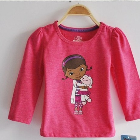 dOC mCsTUFFINS lONG sLEEVE TOP